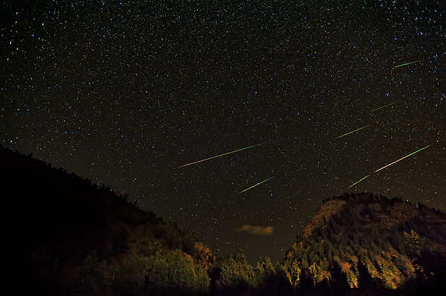 2010 Perseid Meteor Shower Composite