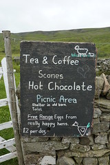 Tea, Scones AND eggs from happy hens?