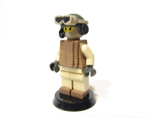 USMC Combat Vehicle Crewman custom minfig