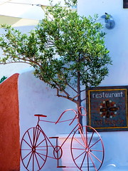 The red Bicycle (Steano) Tags: isolegreche stefanolarosa