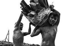 Ulingan, Tondo - The life of Rickson, a Charcoal boy (part 2) (Mio Cade) Tags: poverty wood boy mountain work kid factory child philippines documentary social charcoal manila labour smoky heavy reportage tondo rickson ulingan childrenbestphoto