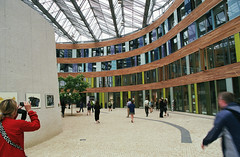 dessau environmental agency 2 (Doctor Casino) Tags: architecture architect dessau 19982005 sauerbruchhutton federalenvironmentalagency