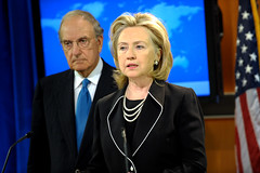 Secretary Clinton Briefing on Middle East Peace Process