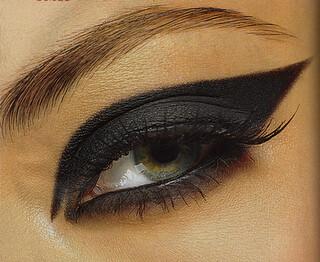 maquiagem olhos de gato