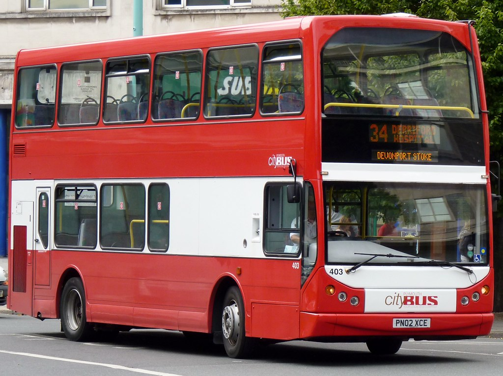 Plymouth Citybus 403 PN02XCE