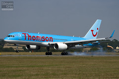G-OOBD - 33099 - Thomson Airways - Boeing 757-28A - Luton - 100816 - Steven Gray - IMG_1466