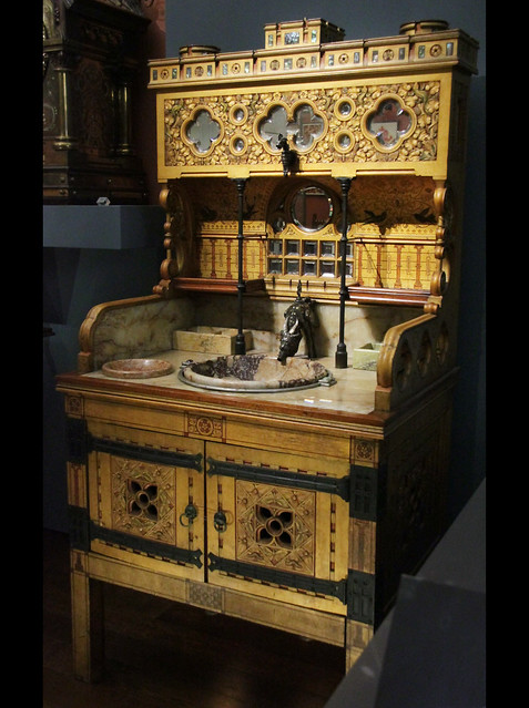 Washstand - William Burges, 1880