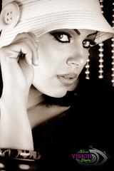 another look ... (Fatma:)) Tags: portrait woman canon blackwhite model kuwait fatma kuwaiti 2470mm picturecollection 40d mywinners anawesomeshot  kvwc kuwaitvoluntaryworkcenter  kuwaitvwc fatma75
