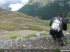 Tornanti al Col de la Bonette - 0258