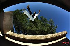360 flip gap - Borel (Way'z) Tags: 360 skatepark flip skate skateboard grind