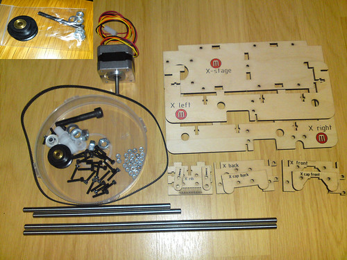 x-stage parts