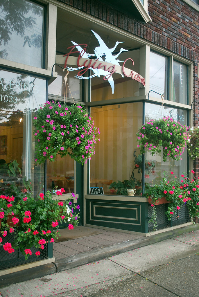 Flying Cranes storefront