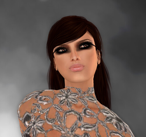 ~*marret*~ flower lace grey luxury hunt gift + Lelutka skins on sale + Truth 50%