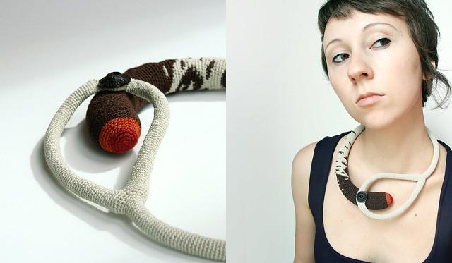 Crochet Lasso Necklace - So Unique!