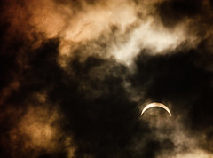 Solar Eclipse (tianxiaozhang) Tags: china sky sun moon clouds eclipse explore zhejiang jiaxing 250mm eos450d efs55250is