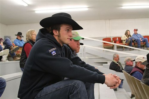 Tanner King may not look like a seasoned rancher, but his experience buying cattle puts him way above his years. Recovery Act  funding provided by USDA gave King an economic leg-up in hard times.