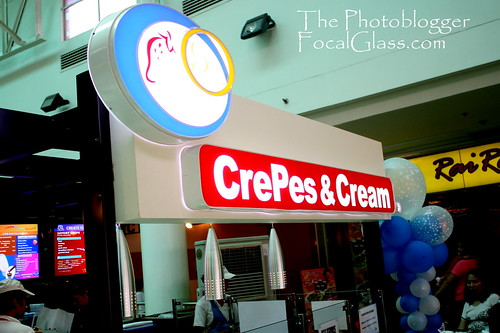 Crepes and Cream Logo
