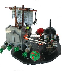 Pirates of the Cerebellum: At Axons End (tin) Tags: funny lego lol space pirates bap brain prototype captain scifi sciencefiction spoof ba weirdal laughs leetspeak spacepirates brickarms piratesofthecaribbeanspoof