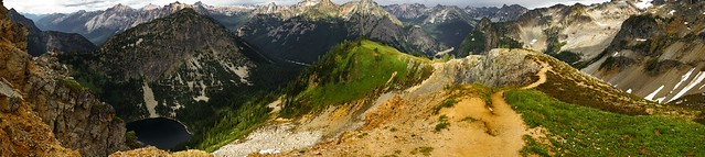 Maple Pass Summit