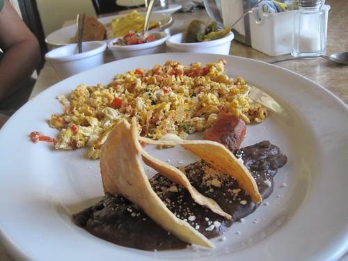 Huevos Mexicana in Campeche