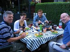 Steak pie and Double Donn (Corien van Delft) Tags: beer ale diner delft bier tuin bitter maaltijd donningtonbrewery