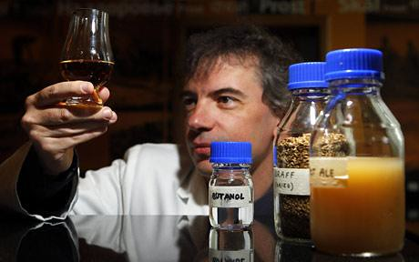 Professor Martin Tangney, Director of the Biofuel Research Centre -- Photo: REUTERS