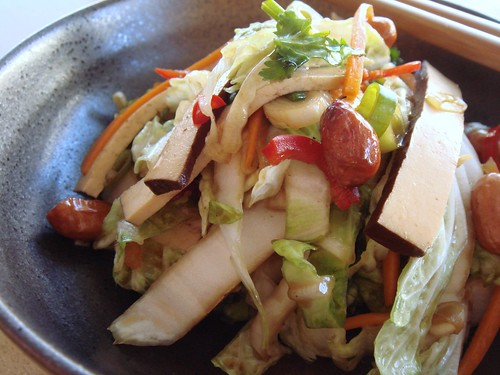 CSA Summer 11: Chinese Slaw With Tofu
