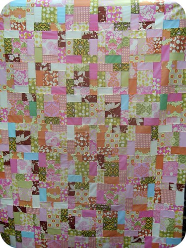 WIP 8 - Amy Butler Midwest Modern Quilt