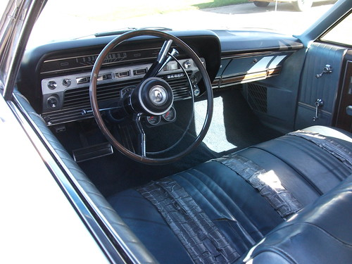 1967 Ford Galaxie 500 Convertible interior