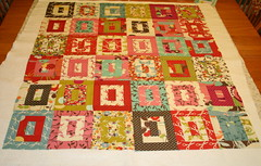 Wonderland Honeybun Quilt (A Quilting Jewel) Tags: moda wonderland honeybun quilttop aquiltingjewel