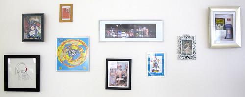 NixonMcInnes office art wall
