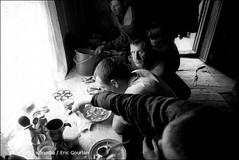 Fishermen of the Lake Baikal (Russian Federation. Buryatia) (egourlan) Tags: 2001 people bw lake town fisherman october village fishermen russia w lac nb population russi