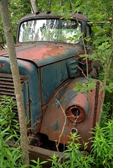 V-Series International (Mr Perry) Tags: rust international 1950s oxidation junkyard 1960s sigma1020mm vintagetruck autowreckers mcleans vseries pentaxk10d