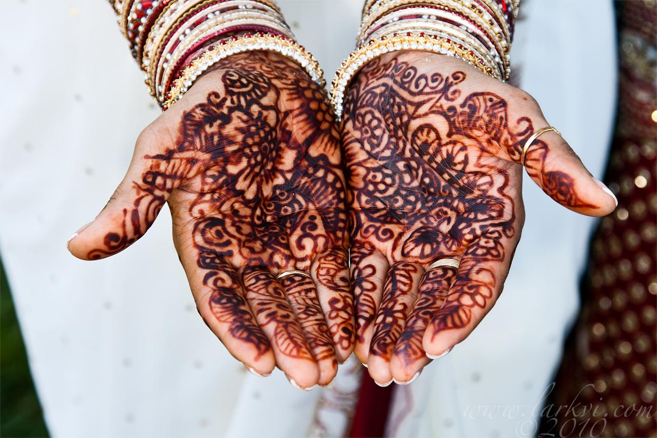 Decorated Hands, Patel-Vieth Wedding, July 2010