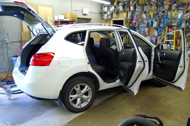 clean detailing nissanrogue vehicledetailing