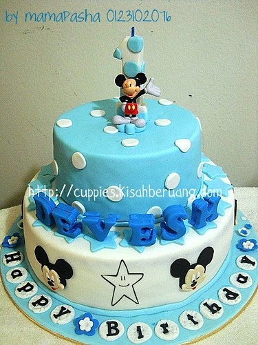 blue mickey mouse maxi tier