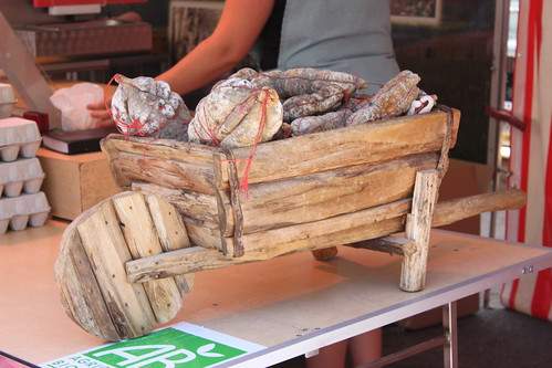 Saucisson at Quai St Antoine Food Market