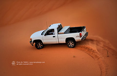 GMC Sierra (Tareq Abuhajjaj | Photography & Design) Tags: red white water grass car truck gold nikon offroad 4x4 4wd sierra saudi arabia nikkor sands 70200 gmc 2010 tareq   d700     tareqmoon tareqdesign abuhajjaj raadan