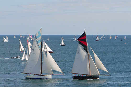 boat cornwall sailing yacht working week regatta falmouth carrickroads