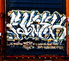 Fisek (mightyquinninwky) Tags: railroad train graffiti tag graf tracks some railway tags tagged railcar doctor rush gore rails boxcar graff graphiti doctors freight painteddoor trainart floater rollingstock paintedtrain fr8 railart cy1 spraypaintart freightcar movingart fisek paintedsteel boxcarart rhoe kbud freightart doitlikethis taggedboxcar paintedboxcar paintedrailcar paintedfreight taggedrailcar taggedfreight