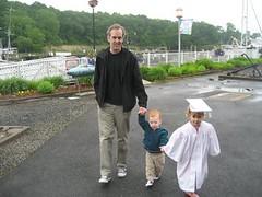 sean, dexter, lucy at graduation june 2008 (Area Bridges) Tags: june lucy graduation sean milford dexter 2008 dex nesm june2008 areabridges