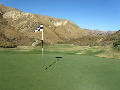 Great golf course view at Lost Canyons Golf, Simi Valley CA