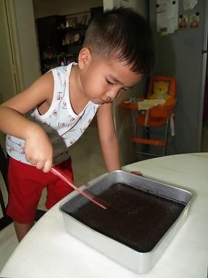 Julian's brownies ready
