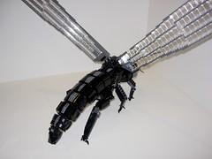Alderfly - Open Wings Rear (Doctor Mobius) Tags: bug insect lego bugs scifi moc battlebug alderfly battlebugs
