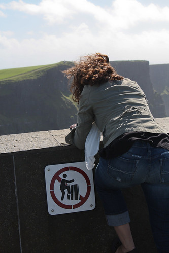 Cliffs of Moher Self Endangerment