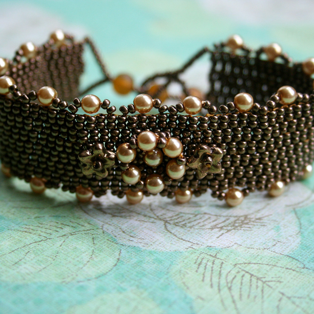 Bracelet - Vintage Flower
