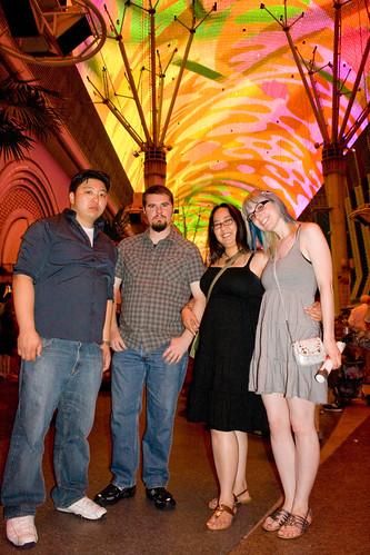 Verg, me, Krista, and John