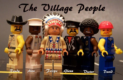 The Village People...minifigs
