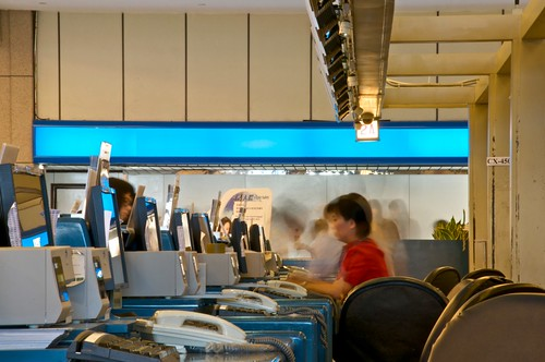 TPE Cathay Pacific Check-in counters (Terminal 1)