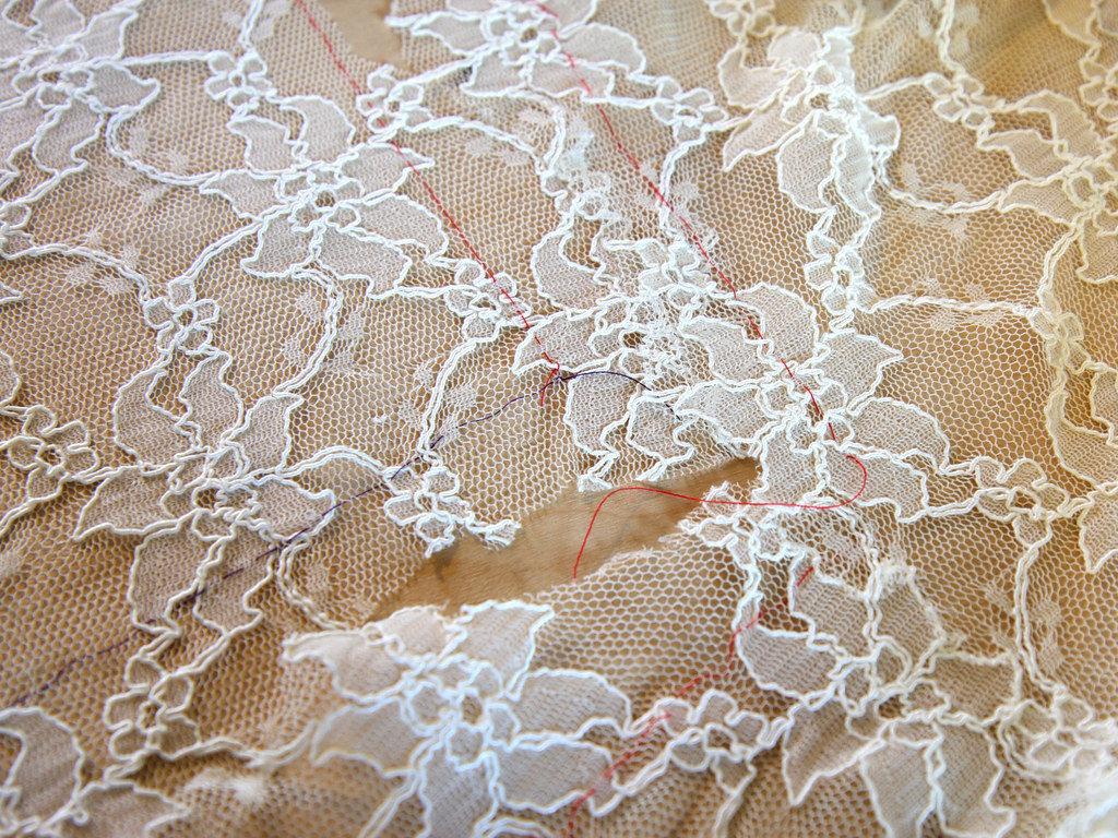 Sewing with lace tutorial it s a stitch up